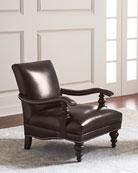 Dalton Leather Accent Chair