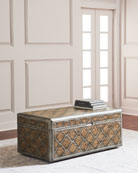 Herman Trunk-Style Coffee Table