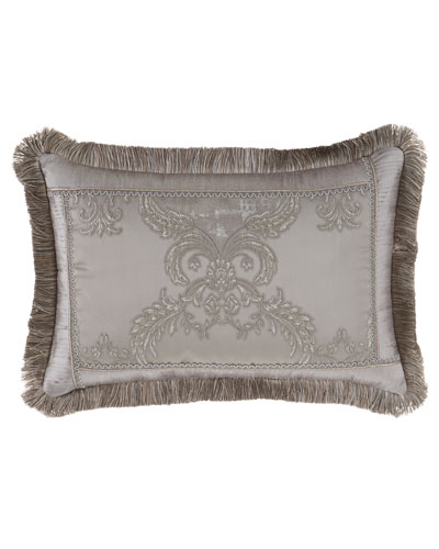 Prestige Pillow with Brush Fringe, 14