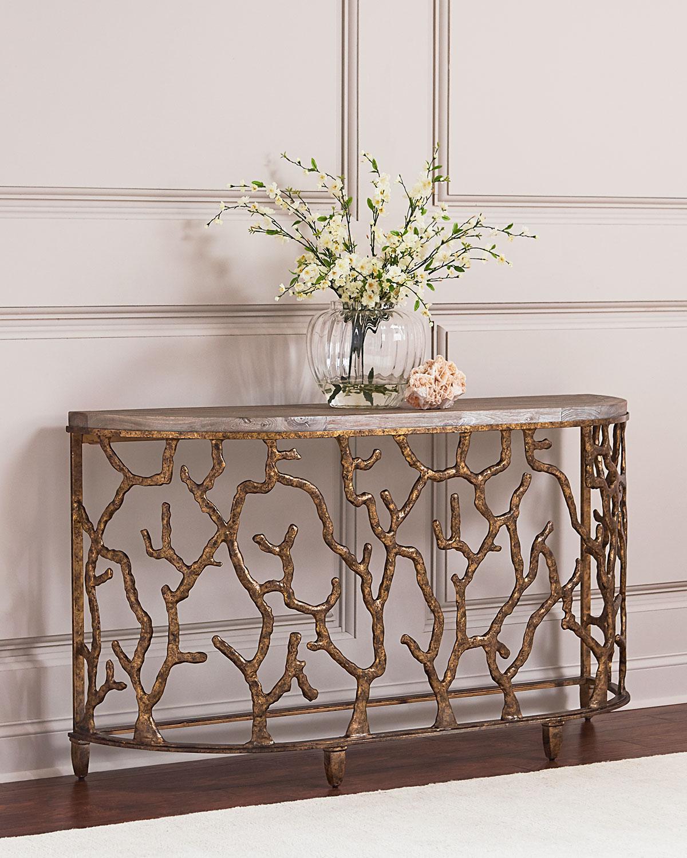 Hooker Furniture Atlantic Golden Console Table