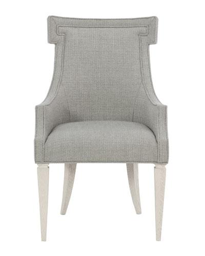Damonica Upholstered Dinning Arm Chair