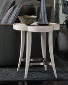 Damonica White Oak Side Table