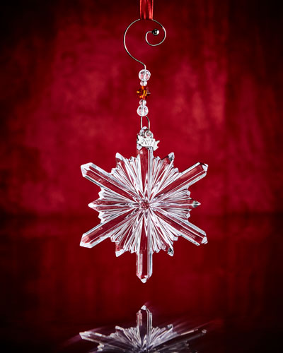 Annual Snowstar Ornament