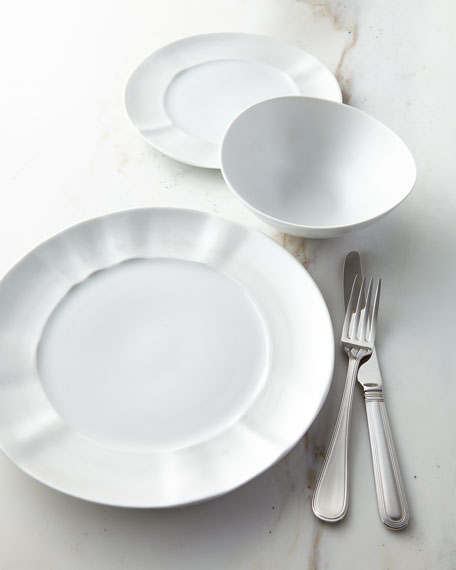 Neiman Marcus 12-Piece By-Hand Pearl Dinnerware Service