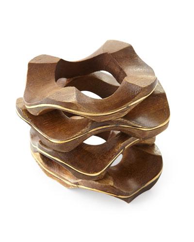 Pavilion Wooden Napkin Ring