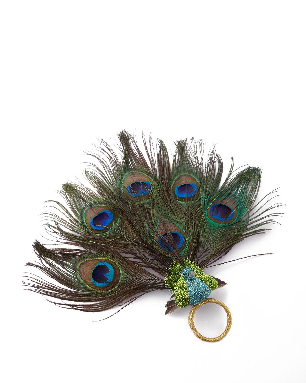 Peacock Napkin Ring