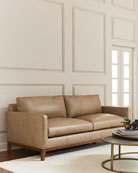 Eben Leather Sofa