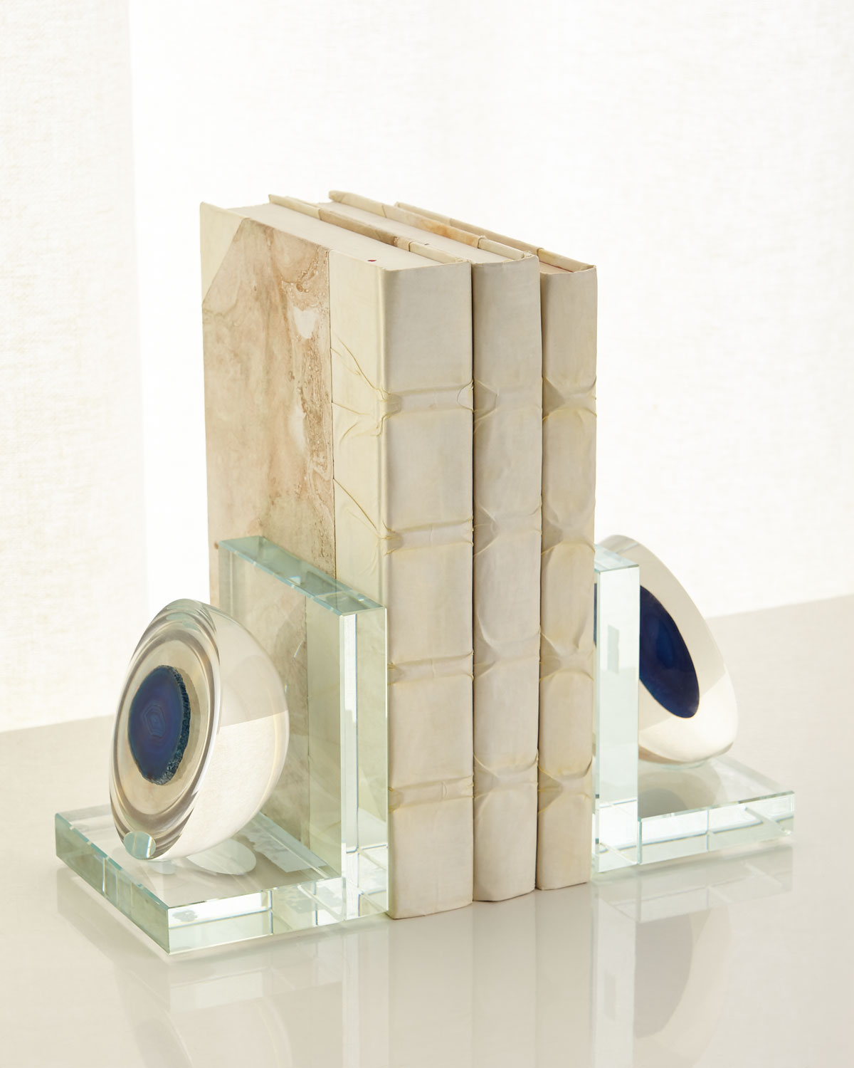 Agate Bookends Set
