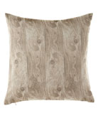 "Timber in Drift Pillow, 20""Sq."
