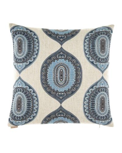 Traveler Indigo Pillow, 24