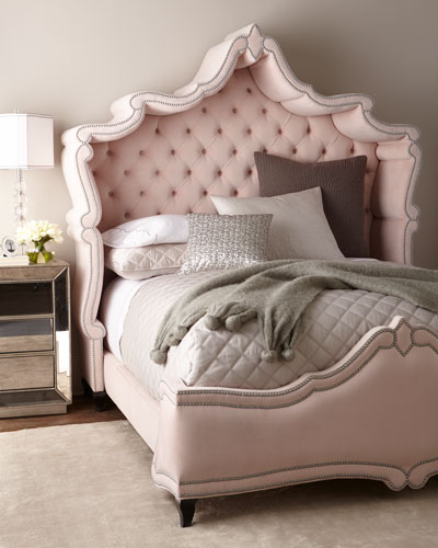 BLUSH ANTOINETTE QUEEN BED
