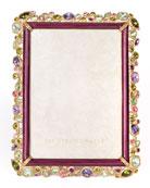 """Leslie Bejeweled Frame, 5"""" x 7"""""""