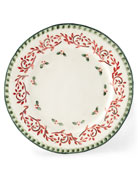 Holiday Dinner Plates, Set of 4