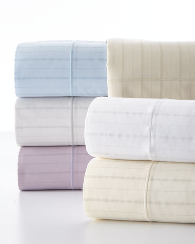 Full Classic Stripe 310 Thread Count Sheet Set
