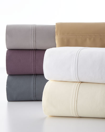 Standard Luxe Solid 510 Thread Count Pillowcases, Set of 2