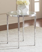 Elsa Icicle Motif Side Table