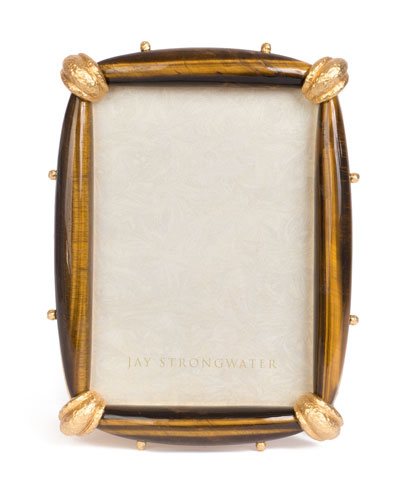 Angelo Tiger Eye Frame, 5