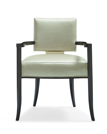 caracole Stanley Dining Arm Chair
