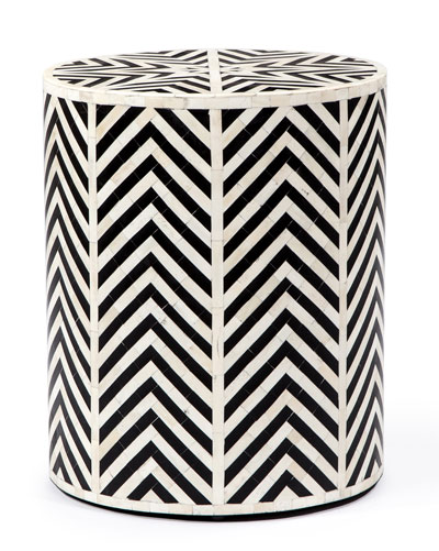 Carmelita Noir Side Table