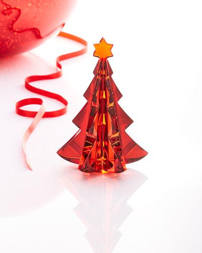 Noel Fir Christmas Tree, Red