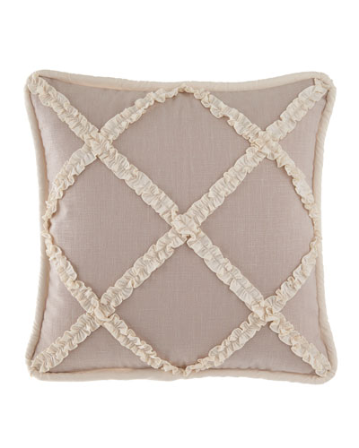 Paloma Ruffle Square Pillow