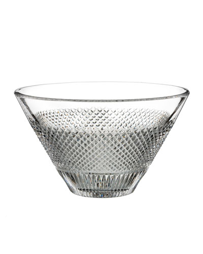 Diamond Line Crystal Bowl - 8