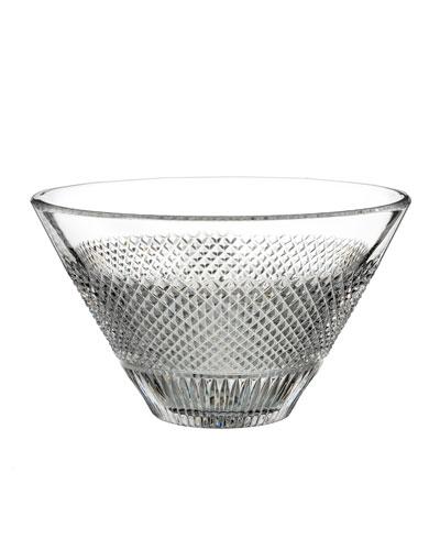Diamond Line Crystal Bowl - 8