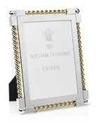 "Gold Twist Picture Frame, 5"" x 7"""