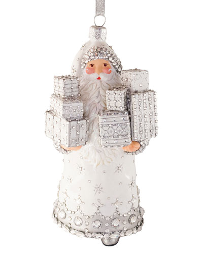 McDonnell Claus Holding Gifts Ornament