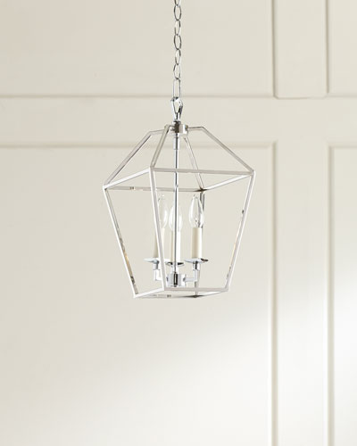 3-Light Cage Chandelier