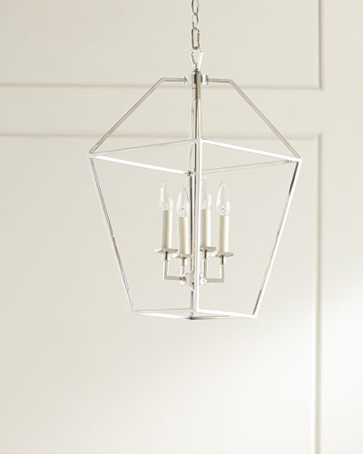4-Light Cage Chandelier