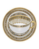 Syracuse Taupe Cup & Saucer