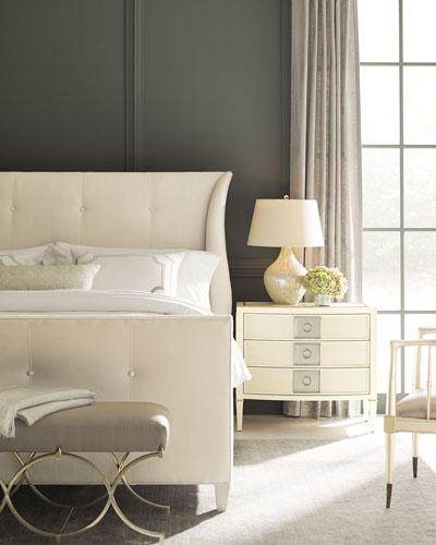 Elisse California King Tufted Bed