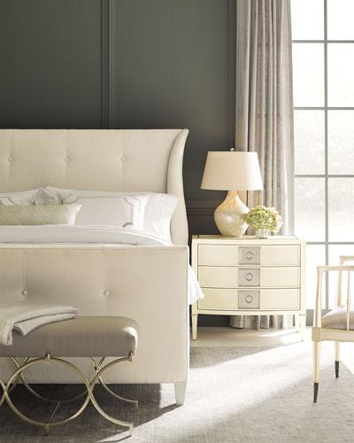 Elisse Queen Tufted Bed
