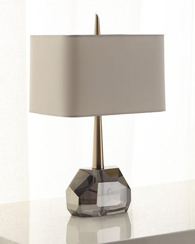 Gemma Crystal & Brass Table Lamp