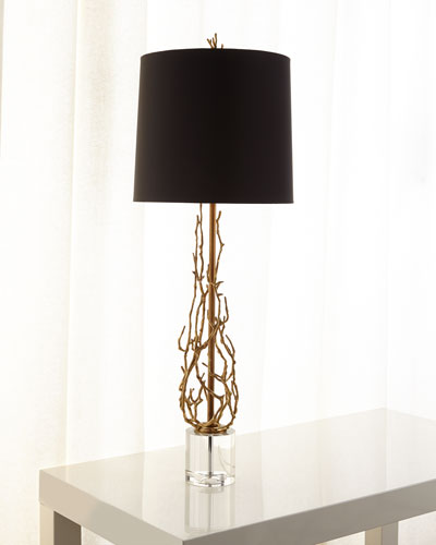 Ingrid Brass Twig Table Lamp