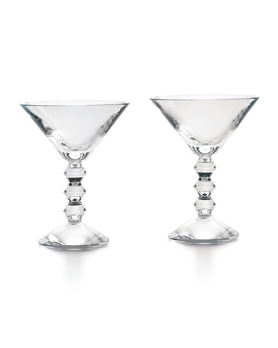 Vega Martini Glasses, Set of Two