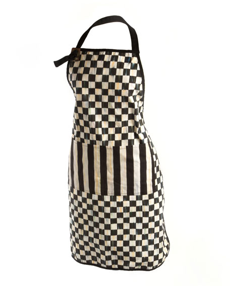MacKenzie-Childs Courtly Check Bistro Apron