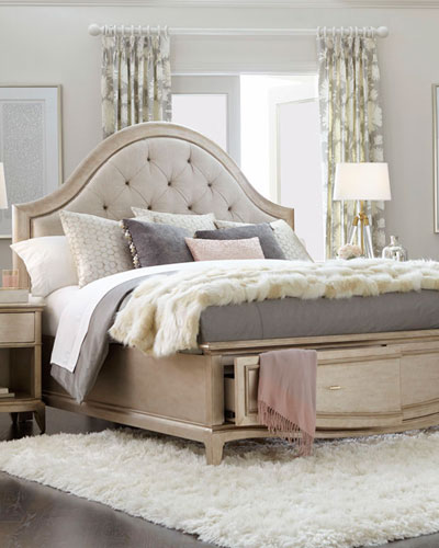 Tufted Bedroom Furniture | Neiman Marcus