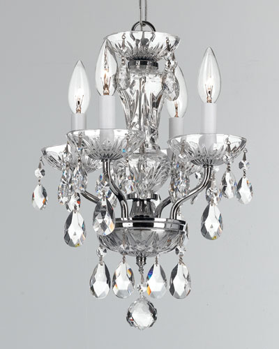 Cody 2-Light Crystal Polished Nickel Sconce