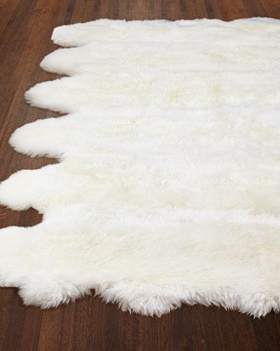 Rocco Sheepskin Rug, 8' x 11'