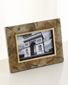 "Pyrite Stone Picture Frame, 4x6"""