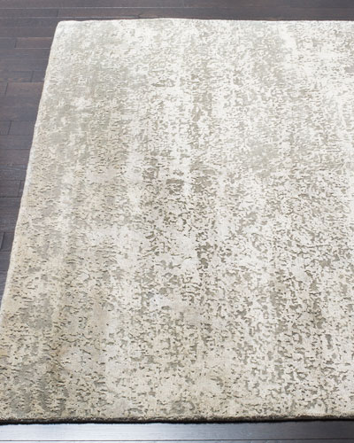 Swann Hand-Knotted Rug, 9' x 12'