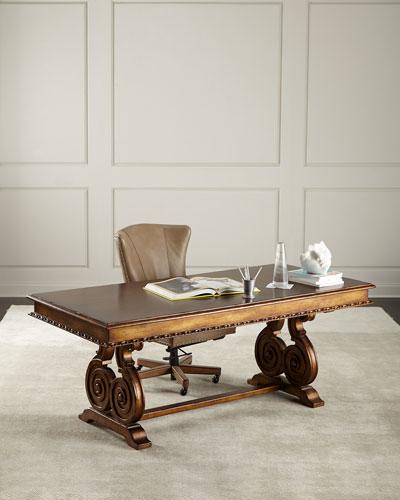 Kimberly Ornate Writing Desk