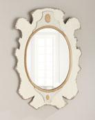 Bianca Wooden Mirror