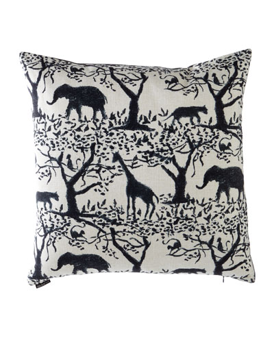 Taro Safari Pillow, 24