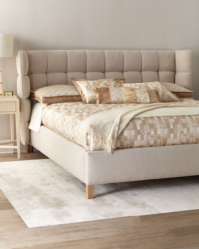 Maya Tufted King Bed