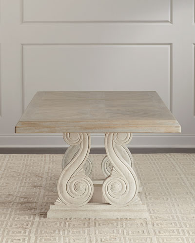 Magdalen Pedestal Dining Table