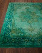 Lotus Hand-Tufted Wool Rug, 5' x 8'