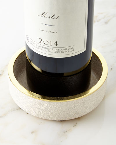 Shagreen Wine Coaster